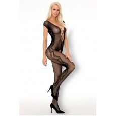 Боди-комбинезон чёрный Moritana Livia Corsetti Fashion
